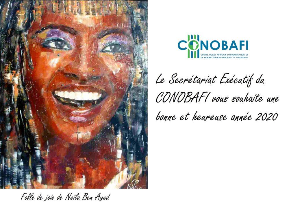 Le Secrétariat Exécutif du CONOBAFI vous souhaite une bonne et heureuse année 2020